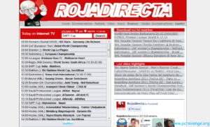 rojadirecta 300x182 Rojadirecta: guida al calcio streaming